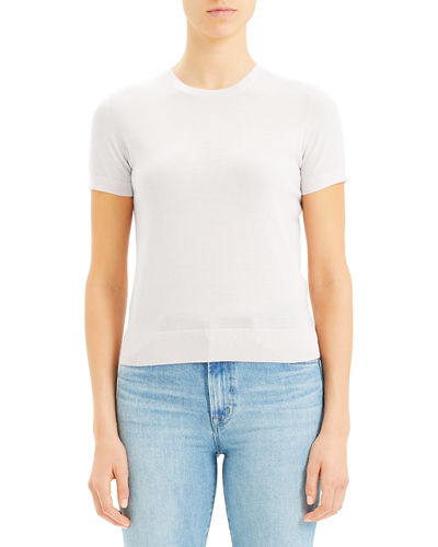 Basic Regal Wool Short-Sleeve Tee