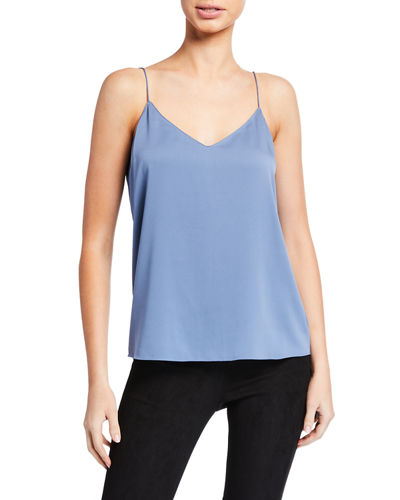 Darted Core St. Silk Cami