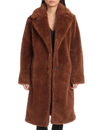 Teddy Faux-Fur Coat