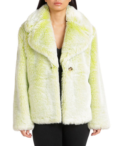 Chubby Faux-Fur Coat