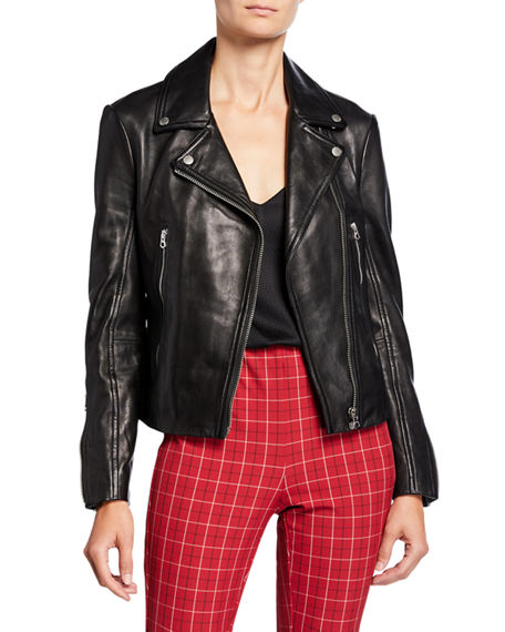 Rag & Bone Mack Leather Moto Jacket
