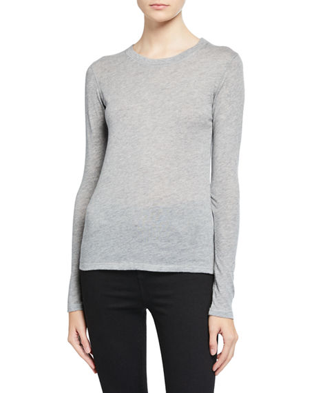 Majestic Filatures Cashmere Long-Sleeve Tee