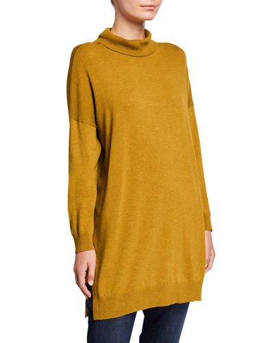Eileen Fisher Lightweight Cozy Turtleneck Tunic