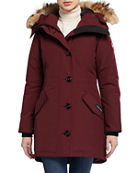 Canada Goose Rossclair Parka Jacket Fusion Fit