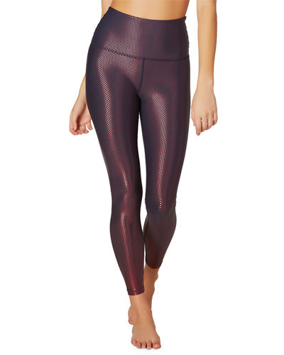 Spot On High-Waist Midi Leggings