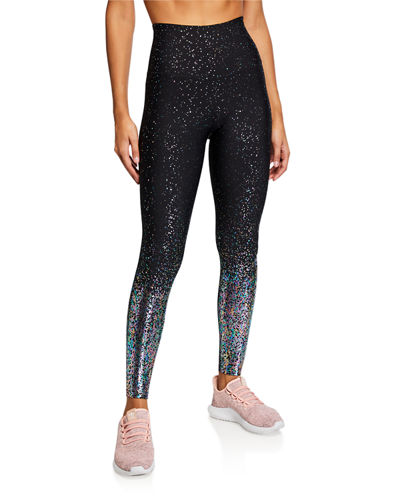 Alloy Ombre High-Waist Midi Leggings