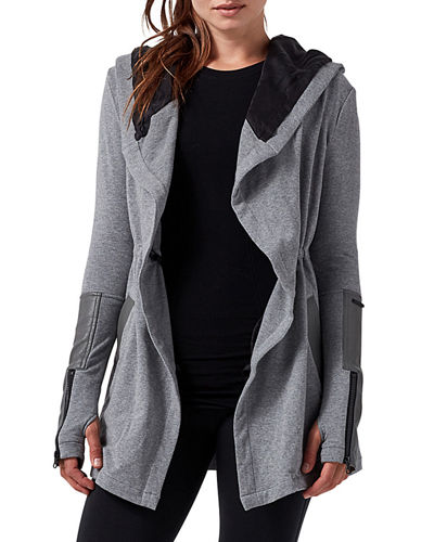 Traveler Hooded Tie-Waist Jacket