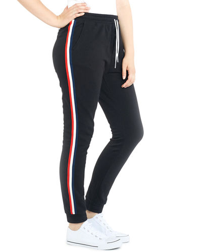 Lucas Side-Stripe Sweatpants