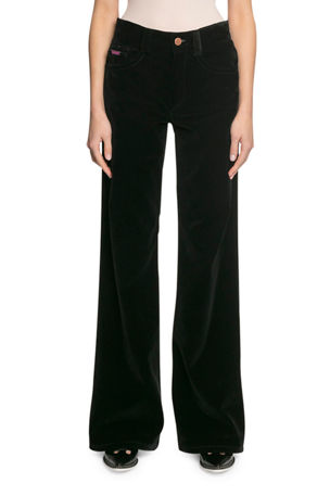 The Marc Jacobs The Velveteen Flared Jeans