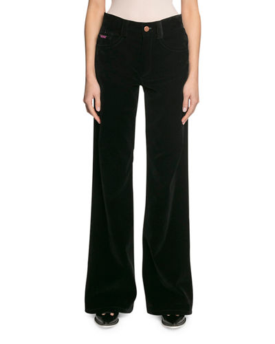 Marc Jacobs The Velveteen Flared Jeans