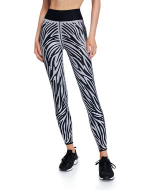 4743370d6 Ultracor Ultra High Zebra-Print Leggings