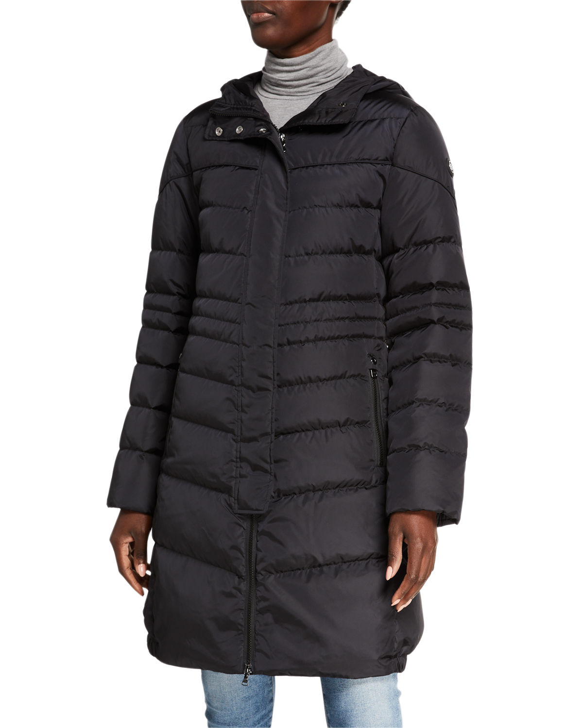 Bogner Jackets LELIA LONG HOODED DOWN JACKET