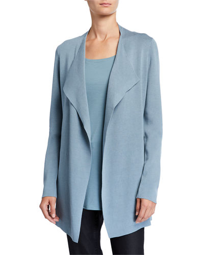 Petite Open Interlock Jacket