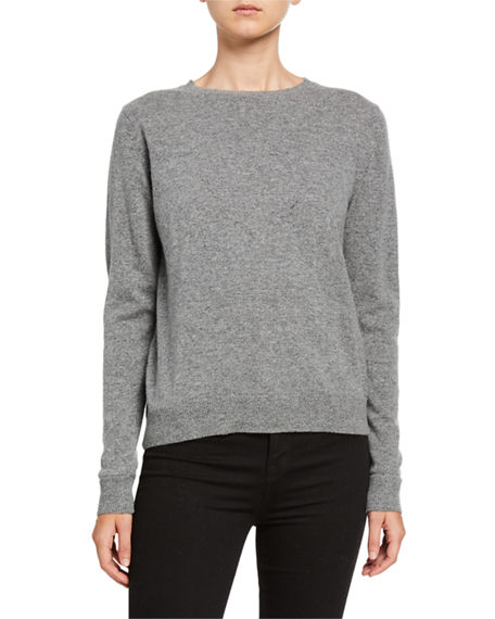 Catherine Osti Alexandrine Crewneck Wool Blend Sweater