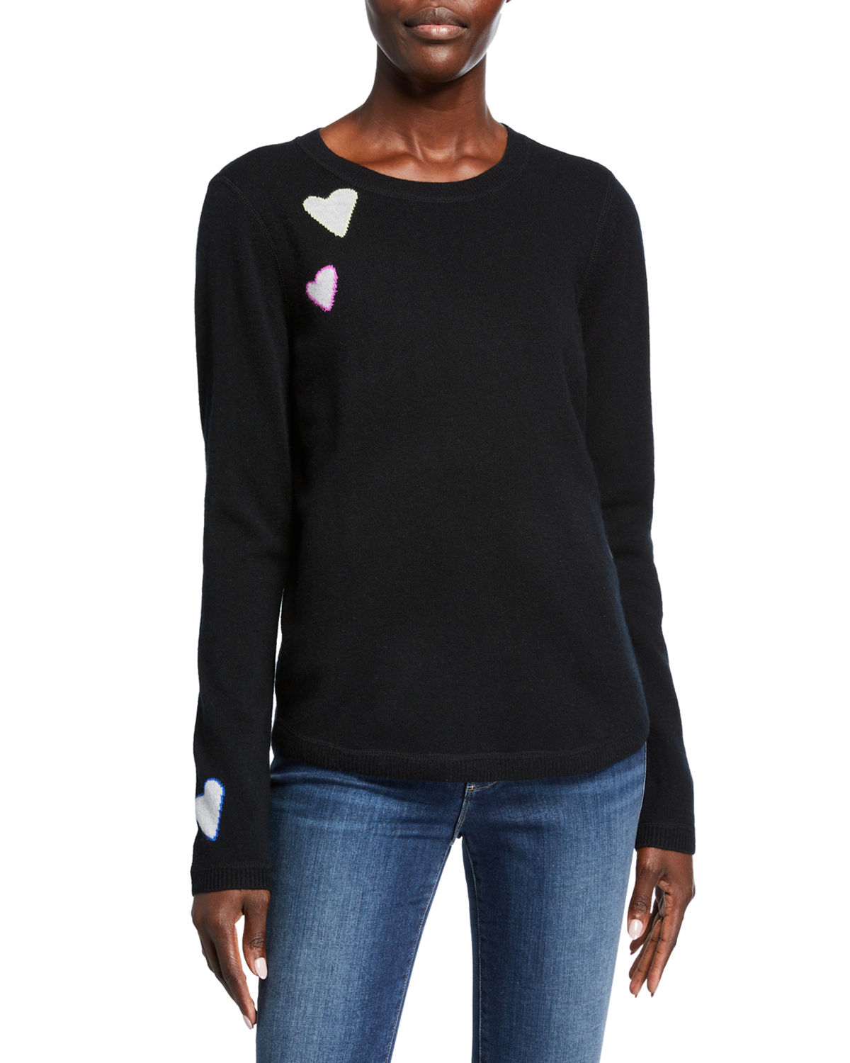 Lisa Todd PLUS SIZE ELECTRICAL FEEL CASHMERE SWEATER