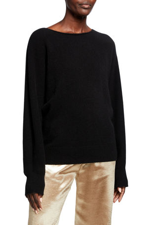 Vince Cashmere Boat Neck Dolman Sweater