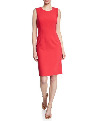 Kobi Halperin Nara Sleeveless Sculpted Twill Dress