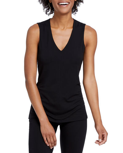 Petite Soft Ease V-Neck Tank Top
