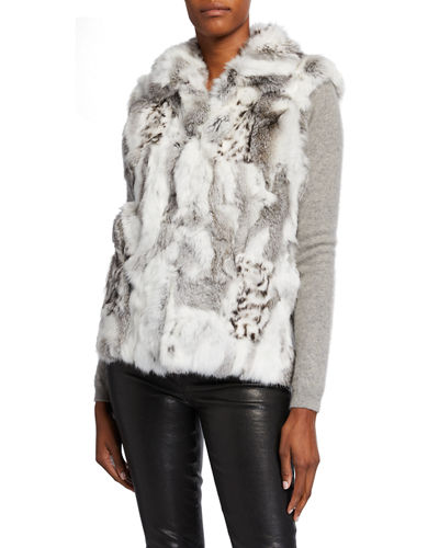 Rabbit Fur Vest