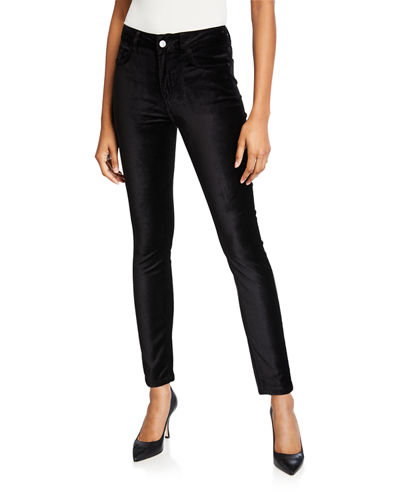 Jen7 by 7 for All Mankind Velvet Ankle Skinny Jeans