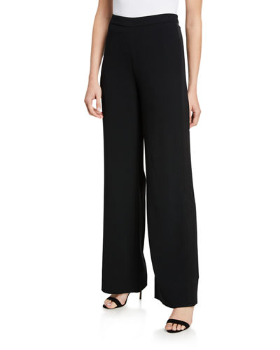 Ciara Satin Crepe Pants