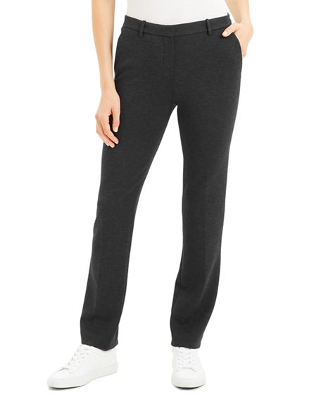 Image 1 of 4: Theory Tailored Ponte Trousers