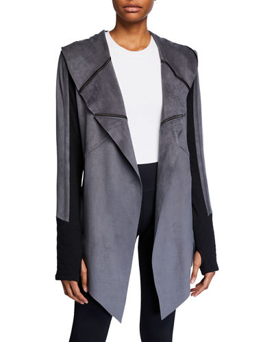 Sleeper Drape Front Jacket