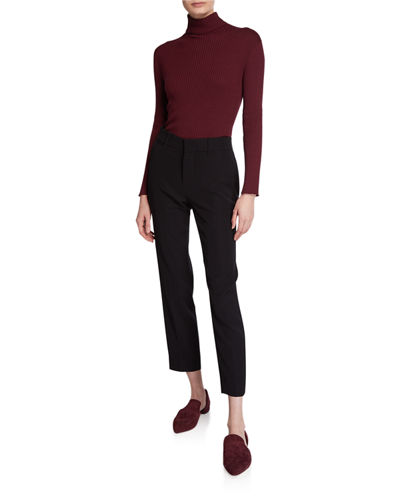 Vince Soft Tailored Ankle Trousers