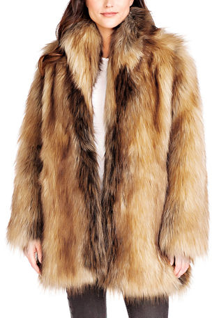 Fabulous Furs Limited Edition Faux Fur Coat
