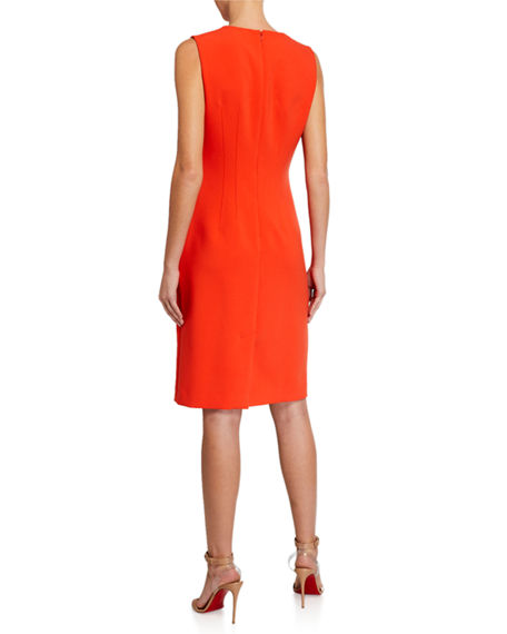 Image 2 of 2: Kobi Halperin Shai Sleeveless Sheath Dress