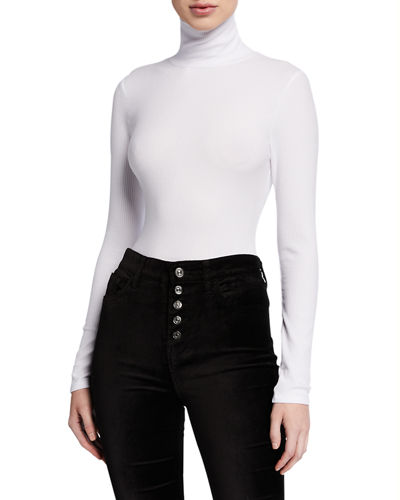 Turtleneck Long-Sleeve Tee