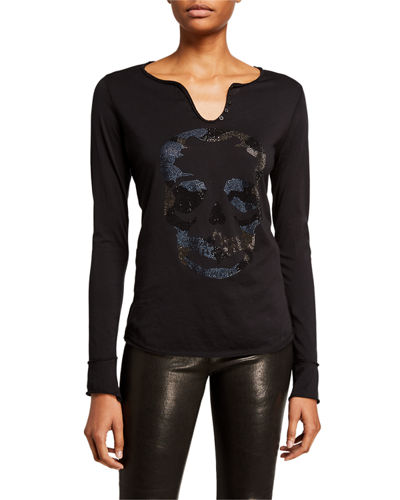 Tunisien Skull Long-Sleeve Shirt