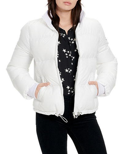 Izzie Cropped Puffer Jacket