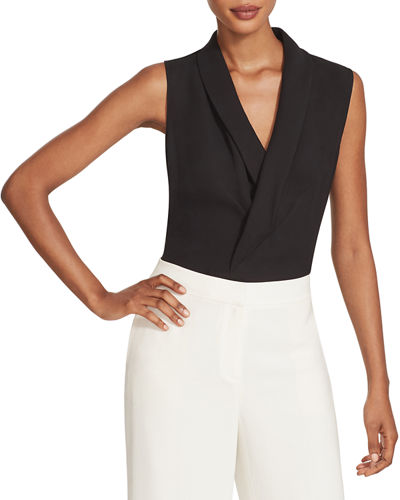 Lafayette 148 New York Carita Sleeveless Blouse
