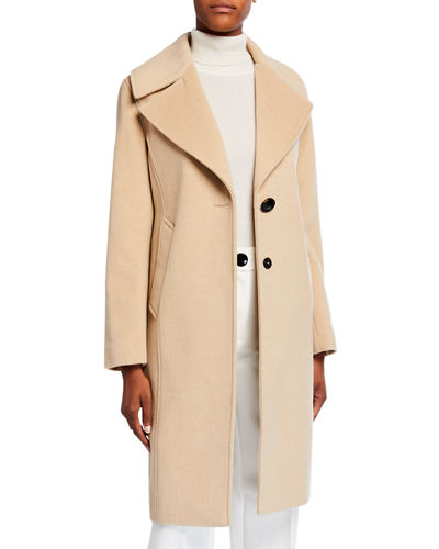 Two-Tone Reefer Coat