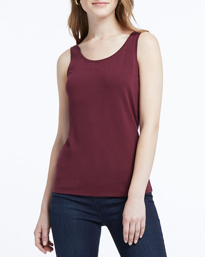 Classic Perfect Scoop-Neck Tank