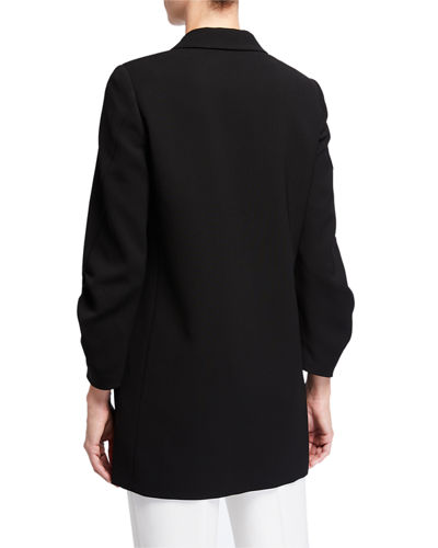 Lafayette 148 New York Cole Finesse Crepe Jacket