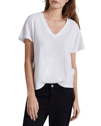 The Perfect V-Neck Tee