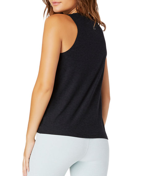 Beyond Yoga All For Ties Knotted Muscle Tank