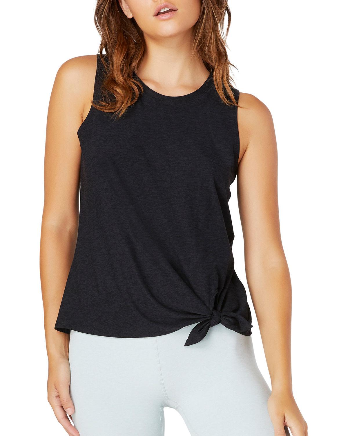 All For Ties Knotted Muscle Tank