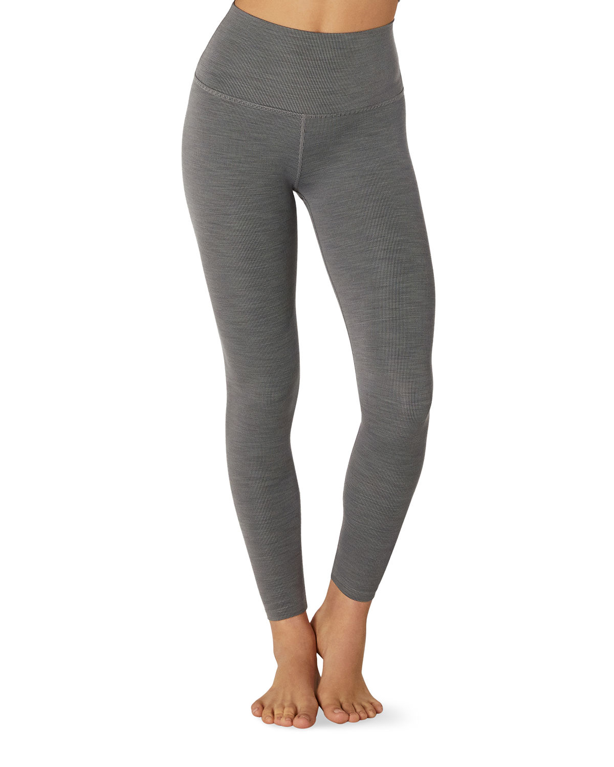 Beyond Yoga Heathered Rib Cropped Active Tank and Matching Items & Matching Items