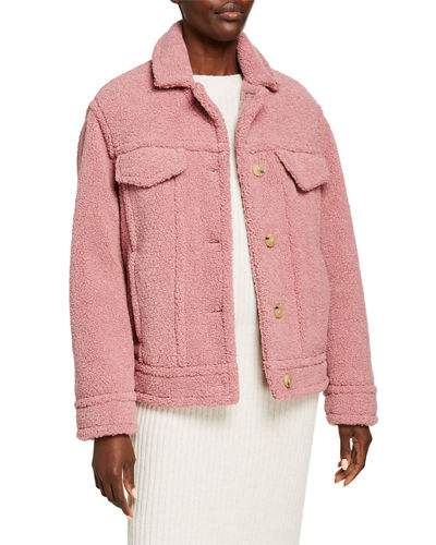 Sherpa Faux Fur Jacket