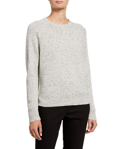 Donegal Speckled Easy Crewneck Sweater