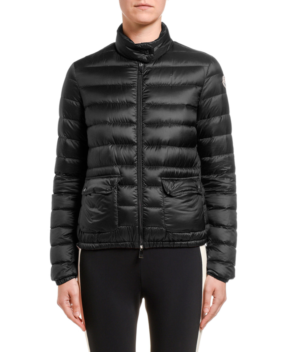 Moncler Jackets LANS COLLARED DOWN JACKET