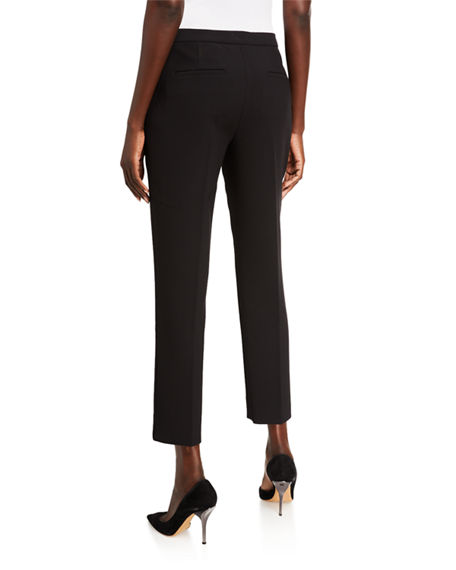 Image 2 of 3: Kobi Halperin Leslie Straight-Leg Ankle Pants