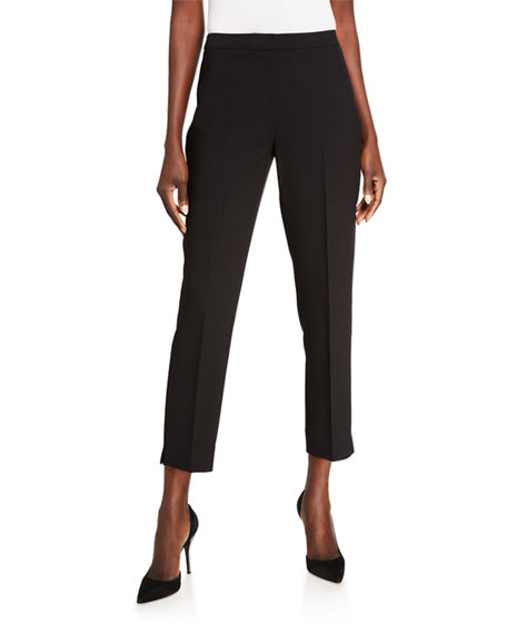 Image 1 of 3: Kobi Halperin Leslie Straight-Leg Ankle Pants
