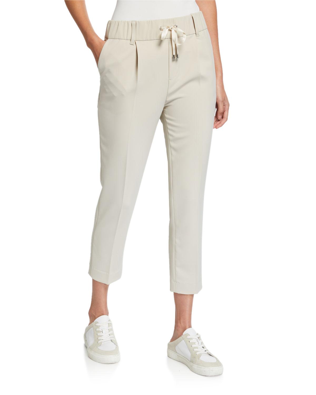 Atm Anthony Thomas Melillo Pants MICRO TWILL PULL-ON PANTS