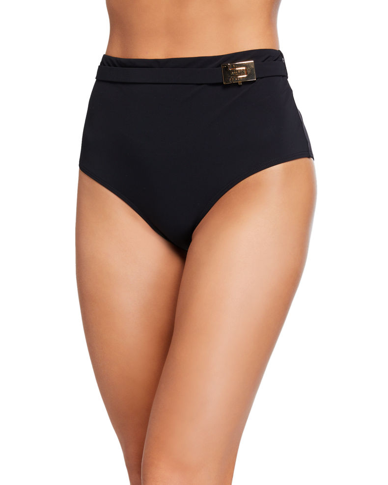 Tory Burch T-Belt High-Waist Bikini Bottom