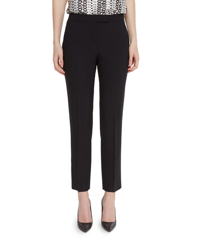 Clive Straight-Leg Ankle Pants