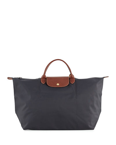 Longchamp Gray Bag   Neiman Marcus 80892ac042